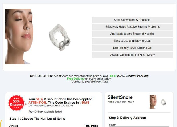Silent Snore review